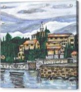 Cobblestone Cove Acrylic Print