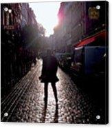 Cobblestone Path Home Paris Acrylic Print