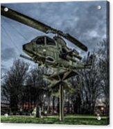 Cobra Helicopter Bristol Va Acrylic Print