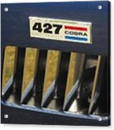 Cobra Medallion Acrylic Print
