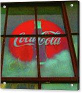 Coca Cola Acrylic Print