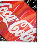 Coca Cola Fan Art Acrylic Print