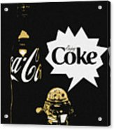 Coca-cola Forever Young 7 Acrylic Print