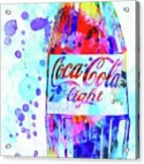 Coca Cola Light Acrylic Print