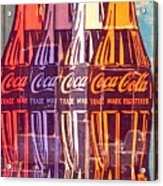 Coca Cola Newspaper Art Pop Art Pur Serie Acrylic Print