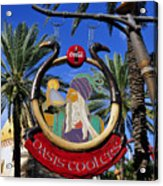 Coca Cola Oasis Coolers Acrylic Print