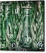 Coca Cola So Many Bottles Acrylic Print