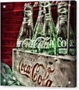 Coca Cola Vintage 1950s Acrylic Print