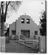 Cochiti Church Acrylic Print