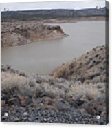 Cochiti Lake Acrylic Print