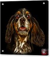 Cocker Spaniel Pop Art - 8249 - Bb Acrylic Print