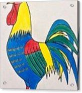 Cockerel 2 Acrylic Print