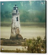 Cockspur Island Light Acrylic Print