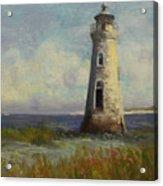 Cockspur Island Lighthouse Acrylic Print