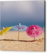 Cocktails In The Sand Acrylic Print