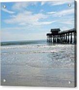 Cocoa Beach Florida Acrylic Print