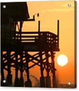 Cocoa Beach Pier/sunrise Acrylic Print