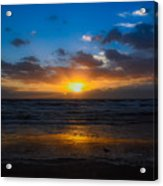 Cocoa Beach Sunrise 5 Acrylic Print