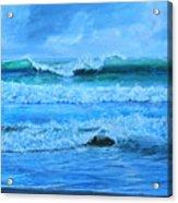 Cocoa Beach Surf Acrylic Print