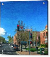 Coconino County Courthouse Acrylic Print