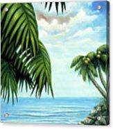 Coconut Cove Acrylic Print