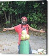 Coconut Man Acrylic Print