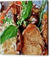 Coconut Shrimp Acrylic Print
