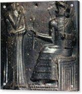 Code Of Hammurabi. Acrylic Print by Granger
