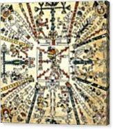 Codex Fej�rv�ry-mayer, 15th Century Acrylic Print