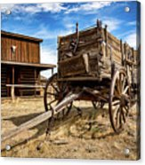 Cody Wagon Train Acrylic Print