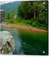 Coeur D'alene River Acrylic Print