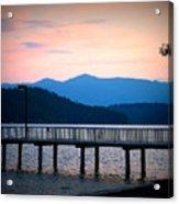 Coeur D'alene Sunset Acrylic Print