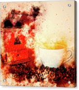 Coffe Grinder Acrylic Print