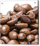 Coffee Beans Closeup Acrylic Print