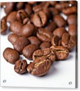 Coffee Beans Acrylic Print by Gert Lavsen