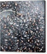 Coffee Beans Roasting Acrylic Print