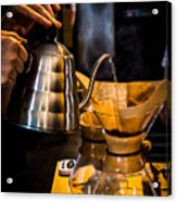 Coffee First Acrylic Print