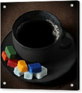 Coffee For Mister Mondrian  Acrylic Print