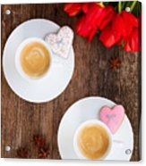 Coffee For Two Acrylic Print