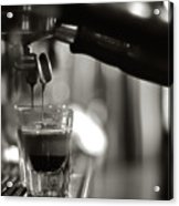 Coffee In Glass Acrylic Print by JRJ-Photo