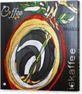 Coffee Mokka Acrylic Print