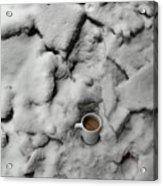 Coffee On The Rocks Acrylic Print
