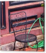 Jonesborough Tennessee - Coffee Shop Acrylic Print