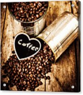Coffee Shop Love Acrylic Print