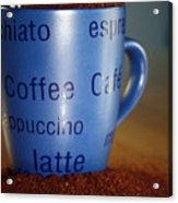 Coffee Straight Up  Acrylic Print