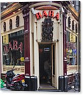 Coffeeshop In Amsterdam Acrylic Print
