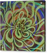 Cognitive Bloom Invert Acrylic Print