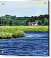 Cohansey River Acrylic Print