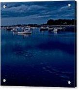 Cohasset Harbor At Dusk Acrylic Print
