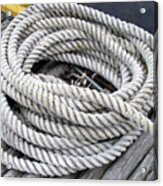 Coiled Rope  Acrylic Print